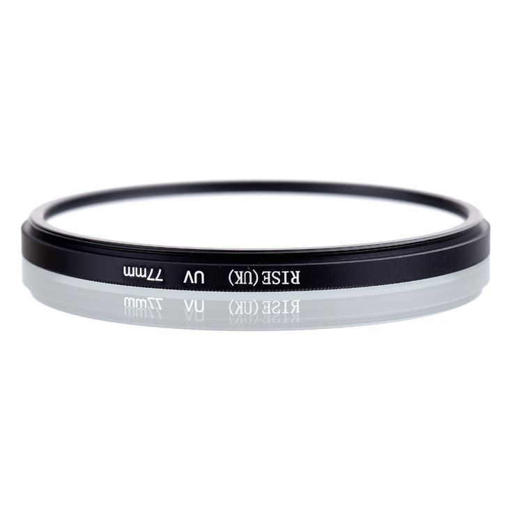 RISE UK 77mm UV Digital Filter Lens Protector for all 77 mm Canon Nikon DSLR SLR. Click visit to buy #lenses #accessories