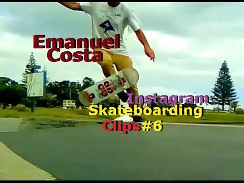 Emanuel Costa - Instagram Skateboarding Clips 6