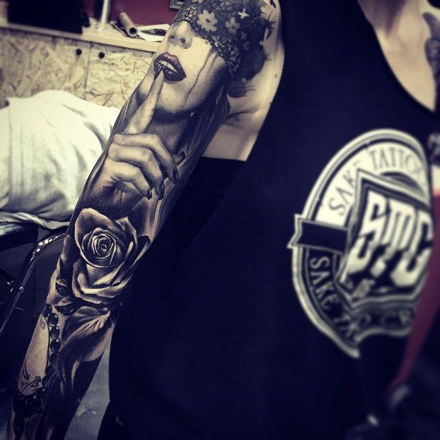 Sake - Realistic Portrait & Color Realism Tattoos - Sake Tattoo Crew