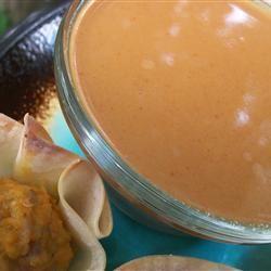 Sauce onctueuse à l'arachide @ http://qc.allrecipes.ca