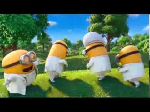 Minions Cantando en la Boda - YouTube