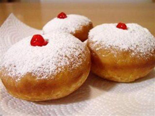 Дрожжевые творожные пончики-шарики