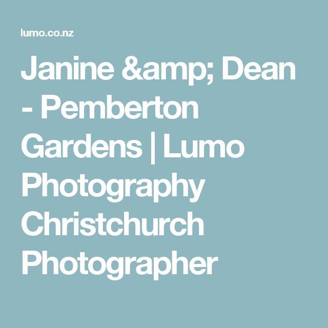 Janine & Dean - Pemberton Gardens   Lumo Photography Christchurch Photographer