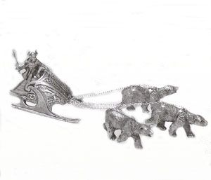 Bear Chariot of the Ice Lands
