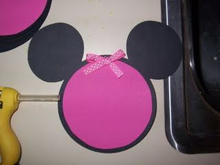 Bear Rabbit Bear Crafts: Minnie Mouse InvitationsBirthday Parties, Mouse Invitations, Minnie Mouse, 1St Birthday, Bears Rabbit, Bears Crafts, Parties Ideas, Mouse Parties, Birthday Ideas