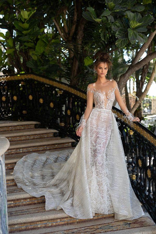 12f5b2d92 A Coleção de Vestidos de Noiva Modernos e Glamourosos Berta 2019 ...