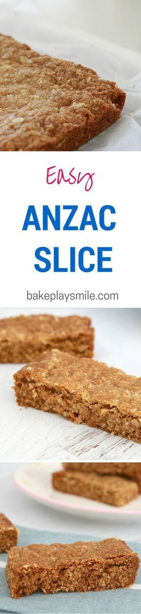 This ANZAC Slice is so much easier than rolling the dough into cookies! This is…