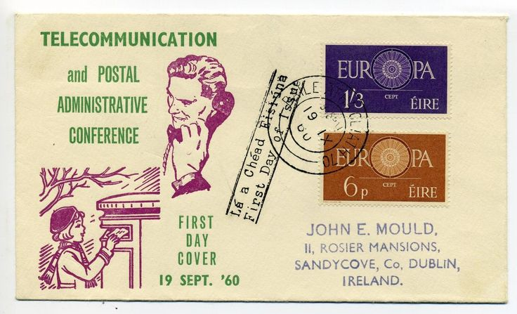 1960 Europa FDC