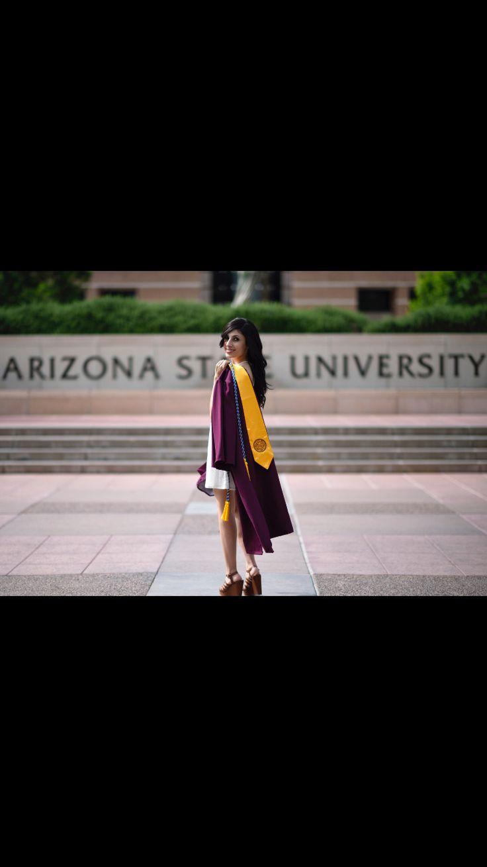 Arizona state university. Graduation pictures