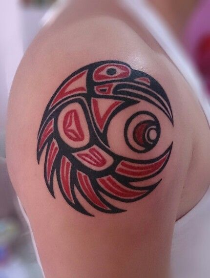 My haida tattoo                                                       …                                                                                                                                                     More #maoritattooswomen