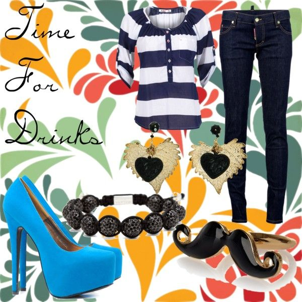 """""""Time For Drinks"""" by allanaaaa on Polyvore"""