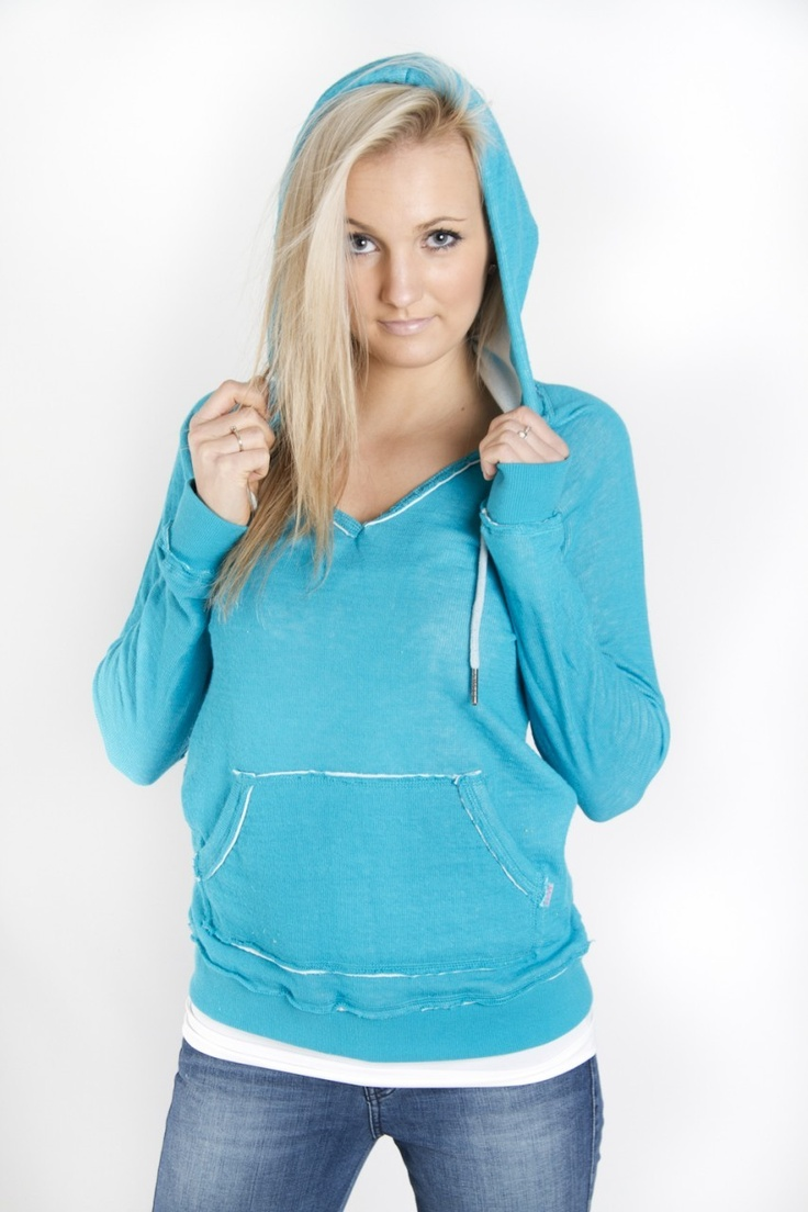 Style Trend Clothiers - Roxy First Breathe Hoodie in Caribbean, $46.00 (http://www.styletrendclothiers.com/roxy-45661/)