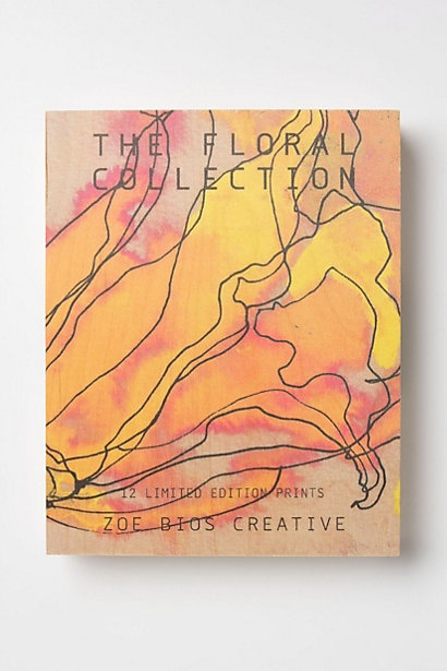 Zoe Bios Creative Print Set, Floral Collection #anthropologie