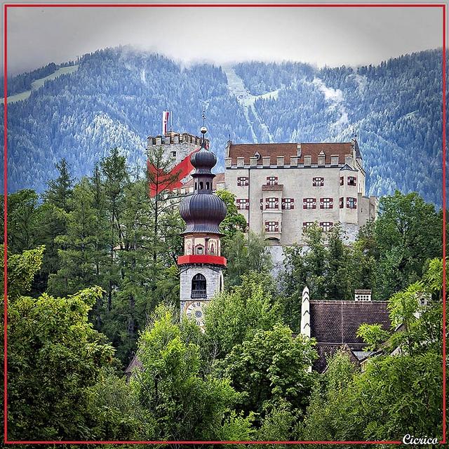 ~#Bruneck castle in #Suedtirol- North Italy~
