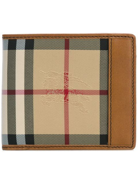 Burberry House Check Small Wallet