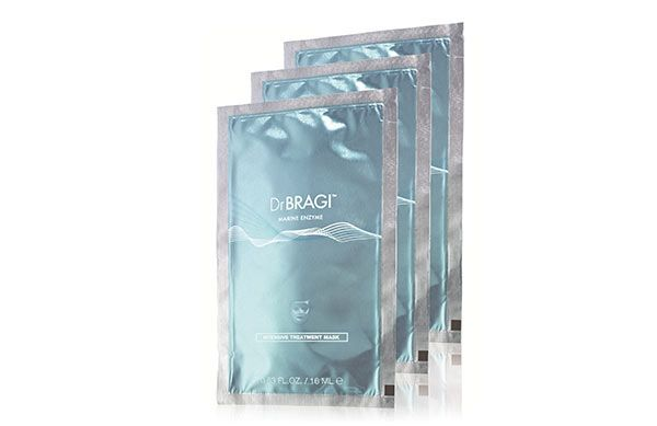 The new Dr Bragi Intensive Treatment Masks quickly hydrate, soothe, repair and plump tired skin. We love to use them after a long week.