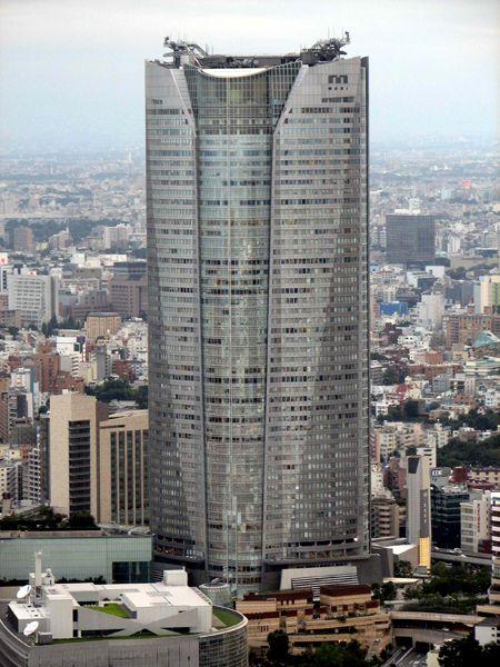 Roppongi Hills Mori Tower / Tokyo / Japan Architect: Kohn Pedersen Fox Associates http://www.architravel.com/architravel/building/roppongi-hills-mori-tower/