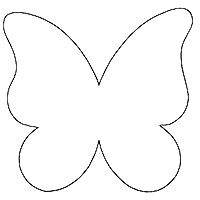 Butterfly wings template - photo#15