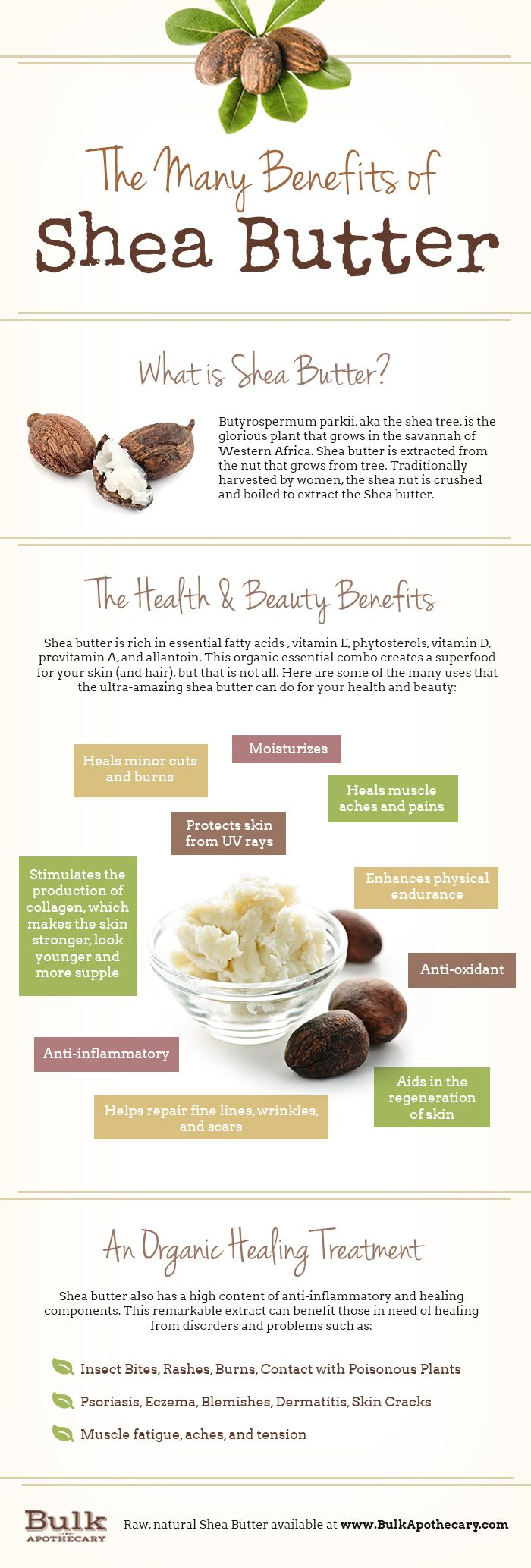 The many benefits of #SheaButter. #beautytips #healthtips
