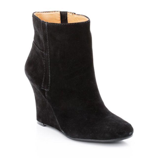 Boots à talon compensé en cuir suédine, NW Gottarun Nine West prix promo La Redoute 149.00 € TTC