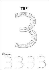 scrivere numeril