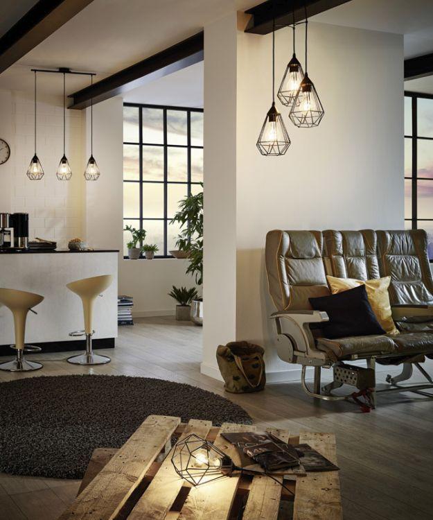 Bestel de Hippe eettafellamp Costel, Zwart op Lampgigant.nl ✓ Snel gratis bezorgd ✓ Grootste collectie in NL & BE!