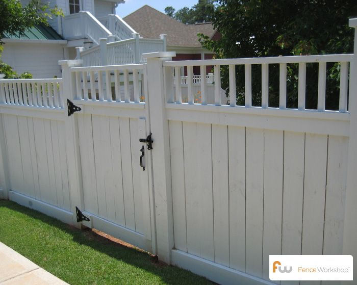 Build Vinyl Fence Gate Woodworking Projects Amp Plans