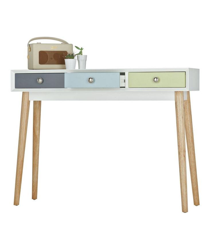 Buy hygena lumina console table at your for Sofa table argos