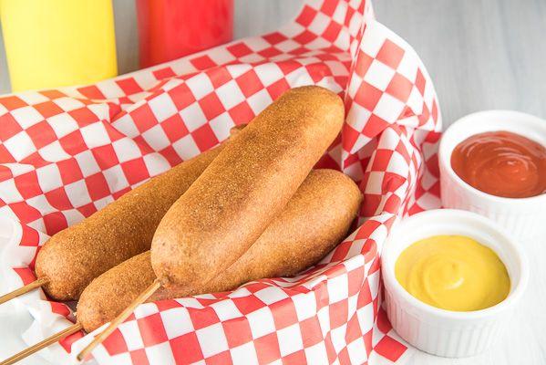 Image result for corn dog