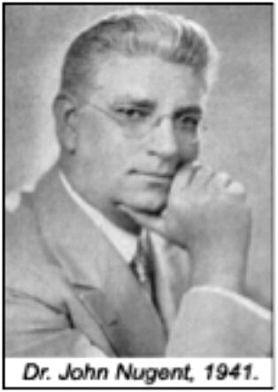 Dr. John Nugent dedicated efforts toward the establishment of 4-year chiropractic college programs, for all chiropractic colleges to attain non-profit status and to enhance faculty, facility and clinical programs. As a result of his efforts, all colleges were 4-year programs by 1932.