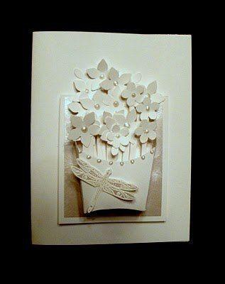 DIY Basket of Flowers Greeting Card 5