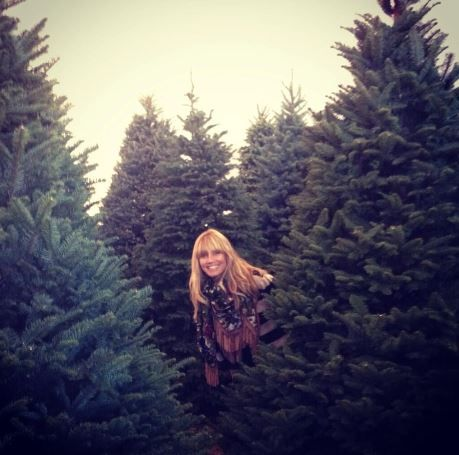 Heidi Klum Christmas Tree Shopping with Family: Photo Gallery