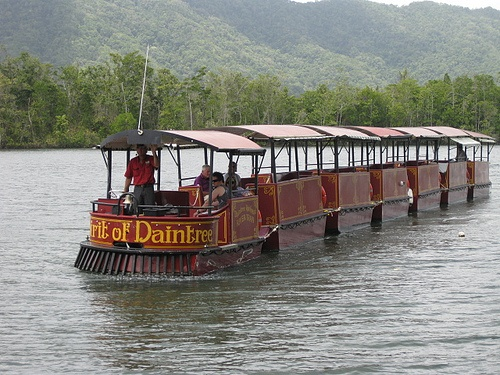 The River Train (not sure if this boat is running anymore? - CATG)