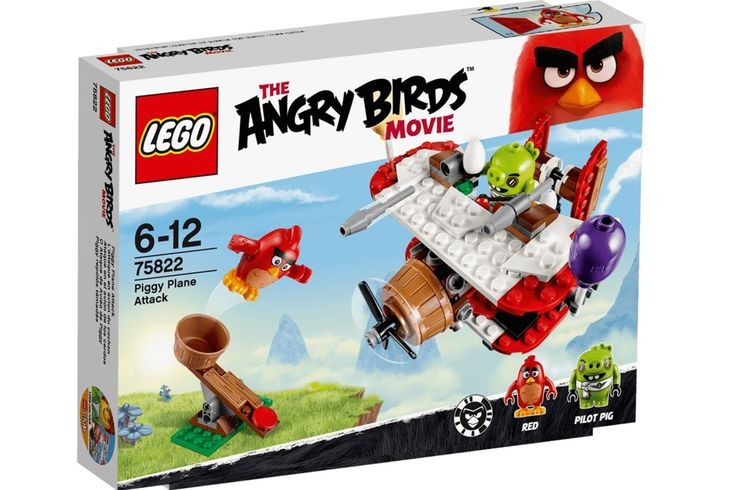 Lego Angry Birds Movie Sets