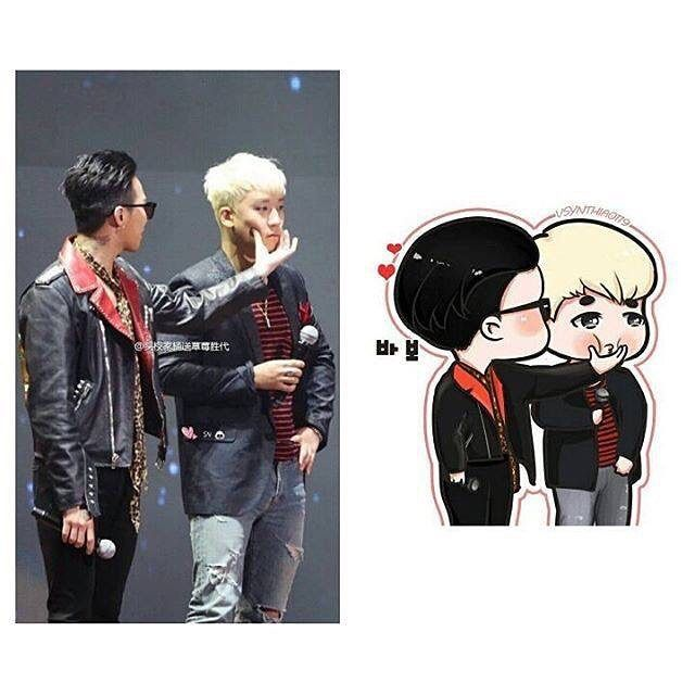 This is so cute  #seungri #gdragon #nyongtory by gri_seyo