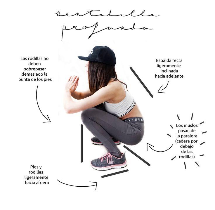 La sentadilla profunda es un ejercicios que puedes realizar tanto en casa como en el gimnasio, es bastante más duro que la sentadilla normal a la que estamos acostumbrado y además trabajar algo más los glúteos de una manera más intensa. ¡Tienes que probarlo!!