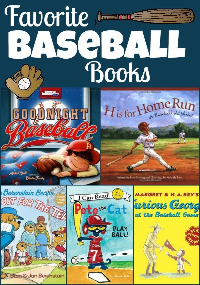 Baseball books for children