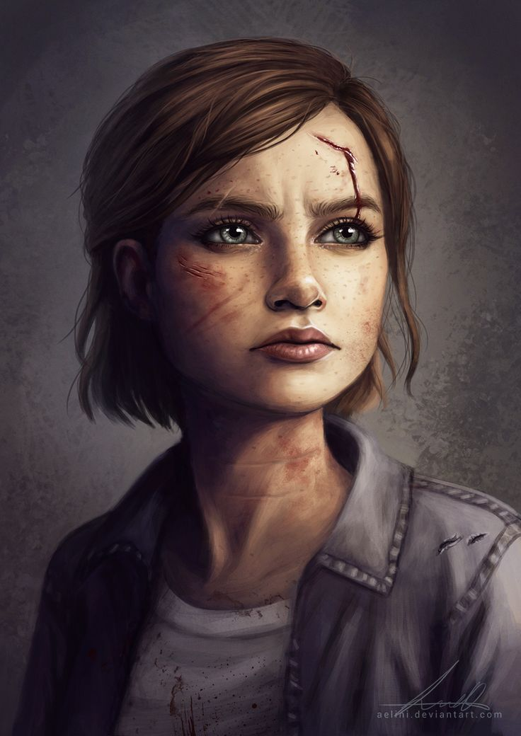 My version of Ellie from The Last Of Us Part II [Fanart