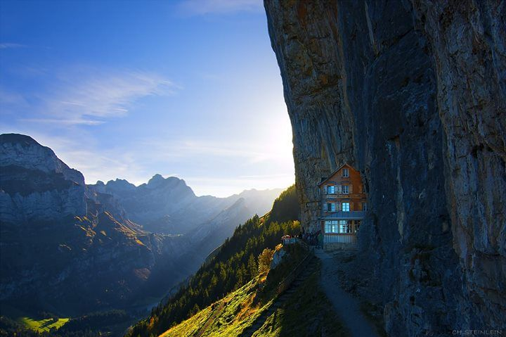 Hotel in Swiss Alps