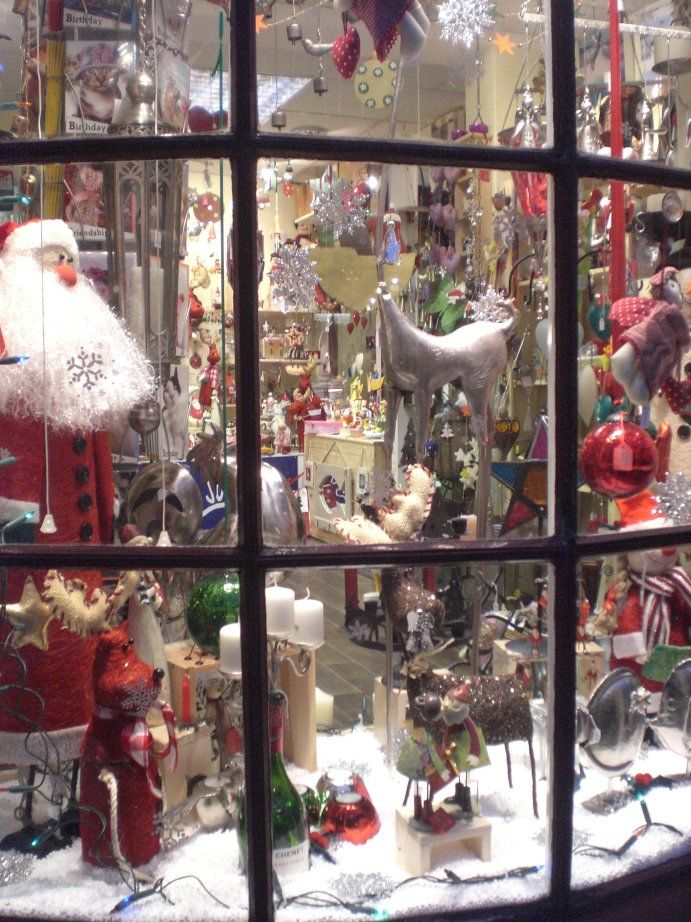 Sloppy Jo Gifts Christmas Window