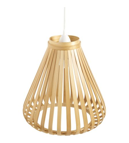 Bamboo Lampshade for ceiling light (www.habitat.fr)