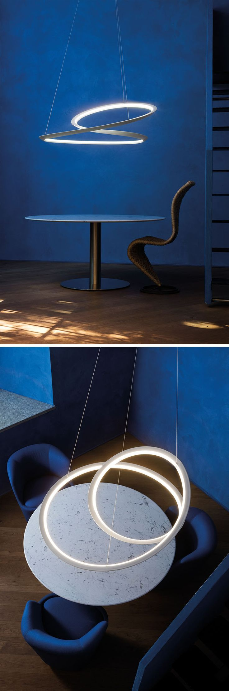 Led night lamp manufacturers - Light Design Arihiro Miyake Creates A Sculptural Mobius Strip Inspired Lamp