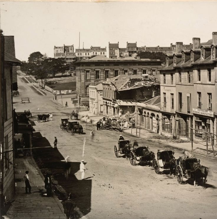 Bridge Street Sydney 1866, NSW History