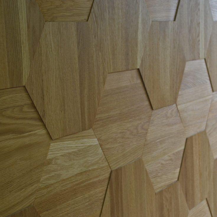 Декоративная плитка из дерева