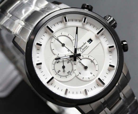 Ac SIlver White-Dial (4.5cm) IDR 720K