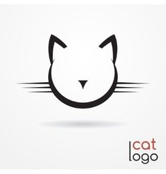 OMG NEGATIVE SPACE AND CATS Cat logo vector                                                       …
