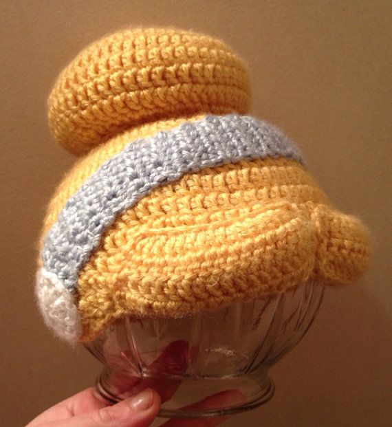Cinderella hair hat - Handmade - baby hat - children's hat - winter wear - crochet wig - photo prop - Disney Princess inspired on Etsy, $25.00