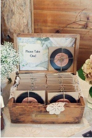 59c9481d03e6b59b008332724e8d2973.jpg (299×448) Image CD with custom label for wedding favor filled with our fav. songs