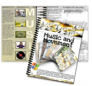 Music and Movement Editable Learning Story Pack