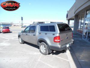 2008 Ford Explorer Sport Trac With Are Z Series Camper